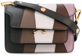 Marni striped 'Trunk' shoulder bag
