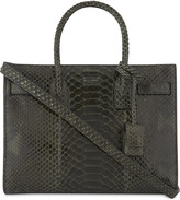 Saint Laurent Sac de Jour baby python leather tote