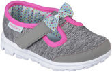 Skechers Go Walk Bitty Bow Girls Shoes - Toddler