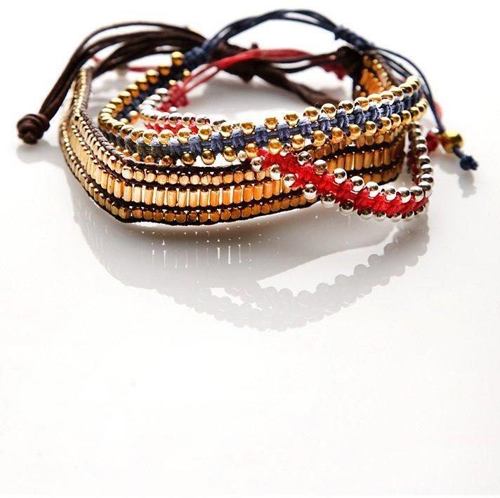Free People Studded Bracelet Set