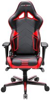 DXRacer Racing Series DOH/RV131/NR Office Chair Gaming Chair Carbon Look Vinyle Ergonomic Computer Chair eSports Desk Chair Executive Chair Furniture with Free Cushions