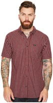 RVCA That'll Do Plaid 2 Short Sleeve Woven Men's Clothing