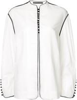 Haider Ackermann oversized button front jacket