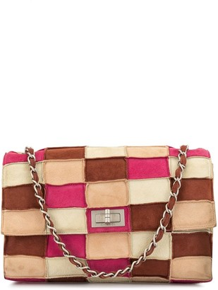 Chanel Pre Owned 1998 2.55 Line patchwork shoulder bag