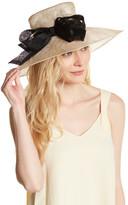 San Diego Hat Company Derby Sinamay Straw Wide Brim Hat