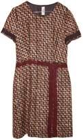 Prada Brown Wool Dress for Women