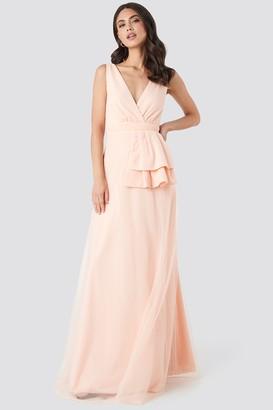 Trendyol Peplum Detailed Evening Dress