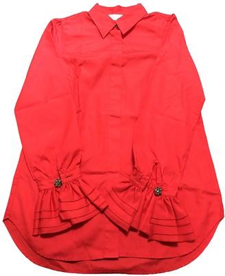 Paul & Joe Red Cotton Top for Women