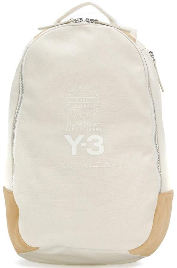Y-3 Sport Y3 Sport logo print backpack