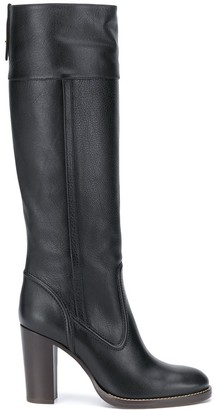 Chloé Knee-Length Leather Boots