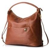 Infant Pacapod 'Jasper' Leather Diaper Bag - Brown