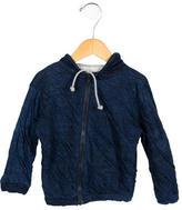 Makie Boys' Hooded Knit Jacket