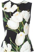 Dolce & Gabbana tulip print tank top
