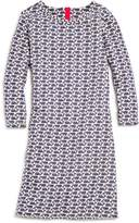 Vineyard Vines Girls' Etched-Whale Shift Dress