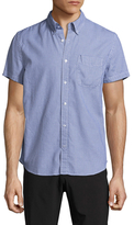 Save Khaki Oxford B.D. Cotton Sportshirt