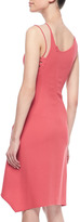Ralph Rucci Sleeveless Lace-Up Dress, Coral