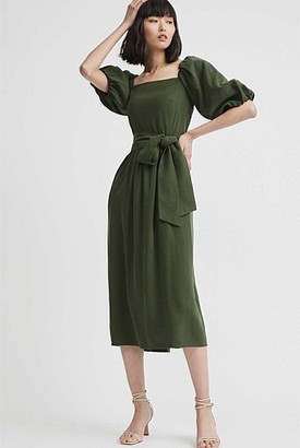 Witchery Balloon Sleeve Dress