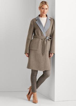 Ralph Lauren Reversible Wool-Blend Coat