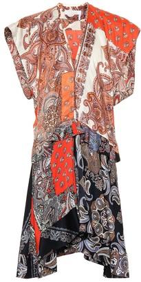 Chloé Printed twill minidress