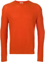 Valentino rib knit sweater - men - Cashmere - XS