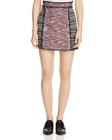 French Connection Pixel Mix Textured Skirt