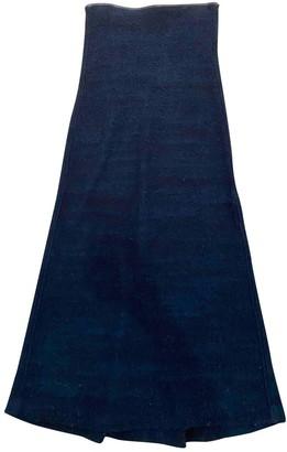 Etoile Isabel Marant Blue Wool Skirt for Women