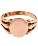 Annina Vogel Gold Signet Ring