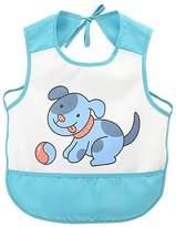 Blancho Bedding Waterproof Toddler Bib, Feeding Baby Apron, Soft Sleeveless Feeding/Cooking/Baking Bib