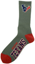 For Bare Feet Houston Texans Deuce Crew 504 Socks