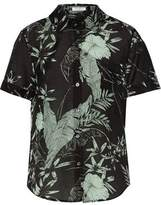 Equipment Elley Floral-Print Cotton And Silk-Blend Broadcloth Shirt