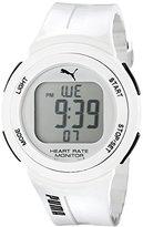 Puma Unisex PU911101002 Pulse White Digital Watch