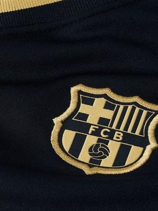 Nike Barcelona Little Kids20/21 Away Kit - Black/Gold