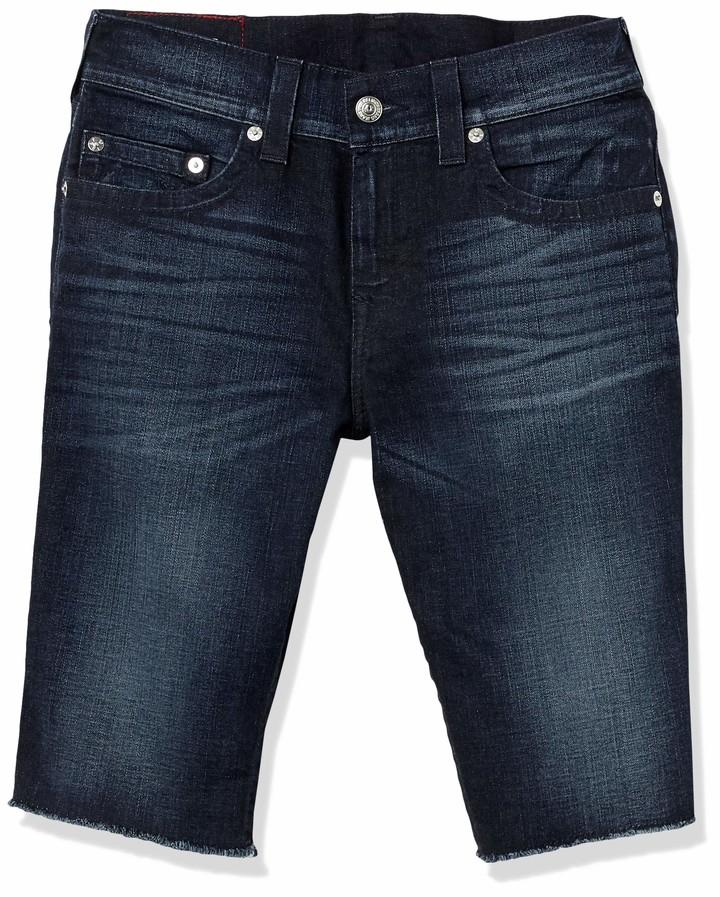 True Religion Men's Ricky Straight Leg fit Short