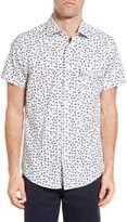 Rodd & Gunn Men's Coal Island Original Fit Print Sport Shirt