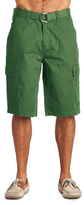 OTB Green Belted Cargo Shorts
