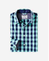 Express soft wash small buffalo check shirt