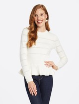 Draper James Peplum Sweater