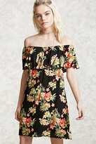 Forever 21 FOREVER 21+ Off-the-Shoulder Floral Dress