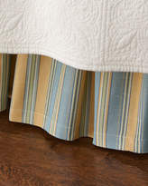 Legacy King Lutece Cypress Striped Dust Skirt