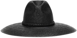 Saint Laurent Grand straw hat