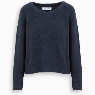 Samsoe & Samsoe Blue boxy fit sweater
