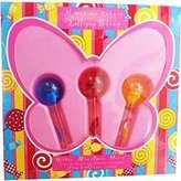 Mariah Carey LOLLIPOP BLING VARIETY by Gift Set for WOMEN: 3 PIECE MINI VARIETY SET WITH LOLLIPOP BLING HONEY & LOLLIPOP BLING MINE AGAIN & LOLLIPOP BLING RIBBON AND ALL ARE EAU DE PARFUM .27 OZ ROLLERBALL MINIS by