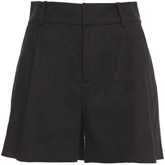 Alice + Olivia Eric Linen-blend Shorts