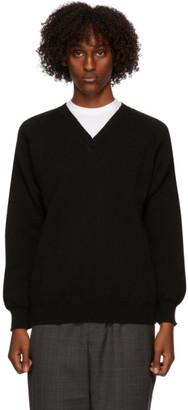 Comme des Garçons Homme Deux Black Lochaven Of Scotland Edition Sweater
