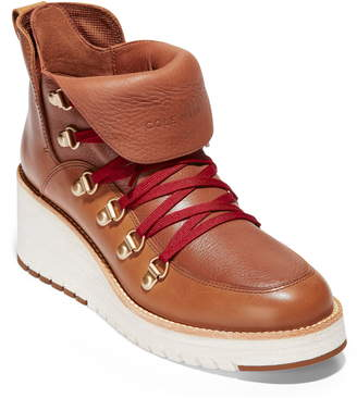 Cole Haan ZeroGrand Waterproof Wedge Hiker Boot
