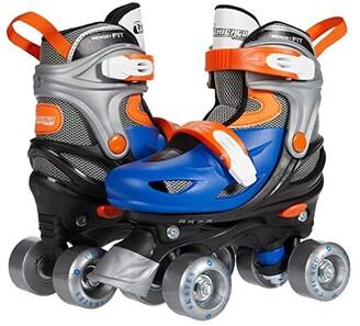 Chicago Skates Adjustable Quad Skates (Toddler/Little Kid/Big Kid) (Blue/Black) Men's Shoes