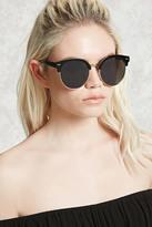 Forever 21 Round Browline Sunglasses
