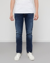 Nudie Jeans Dude Dan Highway Worn Jeans Blue