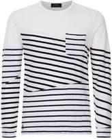 Polo Ralph Lauren Contrast Breton Striped Top