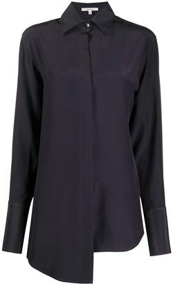 Nensi Dojaka Asymmetric Silk Shirt